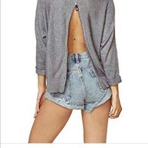 n:Philanthropy Kundi Zip Back Sweater Storm Grey